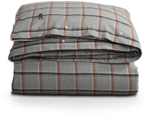 Lexington Checked Flannel Bettdecken-Bezug