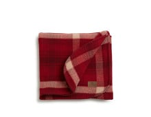 Lexington Checked Wool Blanket Decke