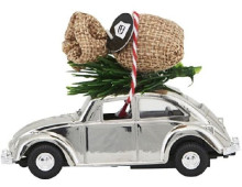 House Doctor MINI XMAS CAR Deko-Auto