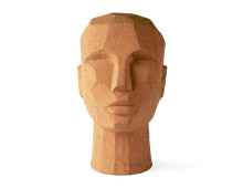 HK living abstract head Skulptur