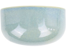 Present Time Oval Wide Glazed Pflanztopf