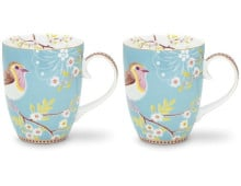 Pip Studio Early Bird großer Becher 2er-Set