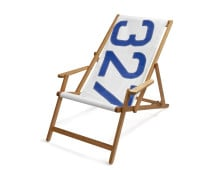 727Sailbags Deck Chair with Armrests Liegestuhl
