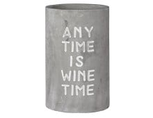 räder POESIE ET TABLE Vino Apéro Beton Flaschenkühler - Any time?