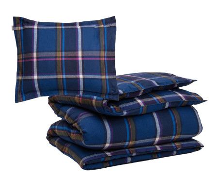 GANT FLANNEL CHECK Bettwäsche-Set