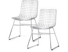 HK living wire Dining Chair Esszimmerstuhl - 2er-Set