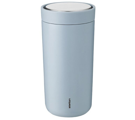 Stelton To Go Click Stahl 685 Thermobecher